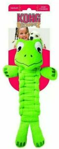"""Kong Bendeez - TURTLE - 16"""" Soft Flexible LARGE Dog Fetch Chew Toy Squeaks"""
