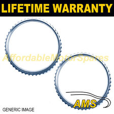 2X FOR NISSAN PRIMERA P11 P12 WP11 WP12 44 TOOTH 76.9MM ABS RELUCTOR RING AR1001