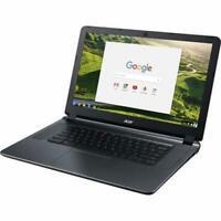 """Acer 15.6"""" Chromebook Intel Atom x5 4GB 32GB Chrome OS - Granite Gray"""