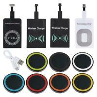 Qi Wireless Ladegerät Dock Pad & Ladegerät für iPhone & Android C P9Y7 & Z3A6
