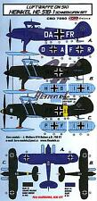 KORA Models LUFTWAFFE ON SKIS HEINKEL He-51BC-1 Resin Set with Decals