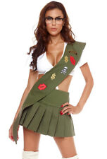 Forplay 556413 adult girl scout mini skirt costume