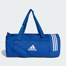 Adidas Convertible Duffel Bag to Backpack Blue Expandible Inside Blue Size M