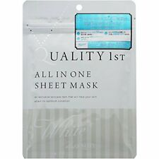 ☀Quality First While ALLIN ONE Sheet Mask 7 pieces Japan F/S