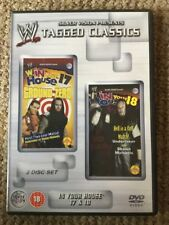 WWE Tagged Classics - In Your House 17 & 18 WWF RARE