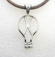 Hot Air Balloon Sterling Silver Pendant by SmithSilver
