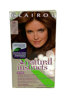 Clairol Natural Instincts 14 Light Cool Brown Permanent Hair Color (1 Box)