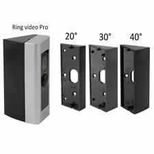 Holaca Angle Adjustment Adapter Mounting Plate Bracket Kit For Ring Doorbell PRO