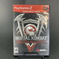 Mortal Kombat: Deadly Alliance (PlayStation 2, PS2) Complete CIB Free Shipping