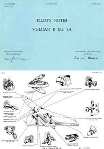 AVRO VULCAN V BOMBER B.1 Mk.1 RARE  PERIOD REPS TESTS PICTURES ARCHIVE 1950 - 60