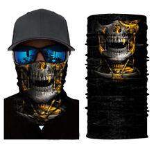 Skull Fossil Face Shield Sun Mask Balaclava Gaiter Bandana Headwear Fishing