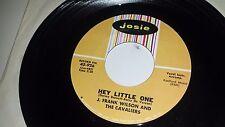 "J. FRANK WILSON & CAVALIERS Speak To Me / Hey Little One JOSIE 926 ROCK 45 7"""
