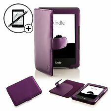 Pelle Viola custodia Smart per Amazon Kindle 7th Generazione 2014