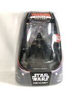 Star Wars Titanium Series Die Cast Darth Vader display case removable helmet MIB