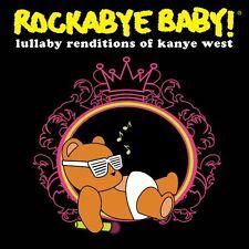 ROCKABYE BABY! Lullaby Renditions Of Kanye West 2010 US 12-trk CD sealed