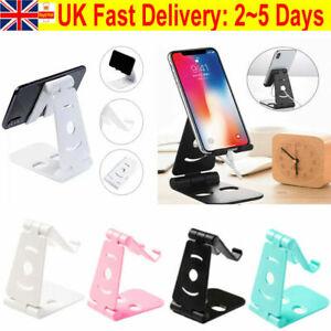 Universal Adjustable Table Mobile Phone Holder Stand Mount Desktop For Phone UK