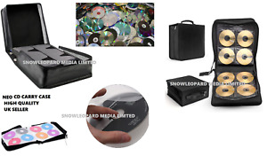 Neo Media Carry Case 240 400 500 Disc CD DVD Ring Binder Bag Wallet Storage NEW