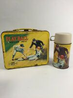 Vintage Rare Playball Lunchbox With Thermos