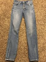 american eagle next level stretch jegging Hi Rise Womens Size 6 Short Jeans A3