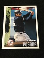 1995 Bowman Baseball Jorge Posada ROOKIE, NM, New York Yankees LEGEND