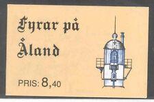Aland Scott 67a Mint NH booklet (lighthouses)