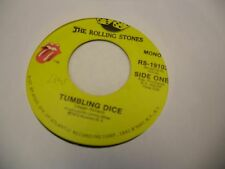 Rolling Stones Tumbling Dice/Sweet Black Angel 45 RPM 1972 Stones Records VG+