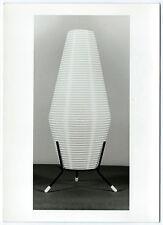 photo de lampe Design japonisant tripode 1950 Designer éclairage déco 13 x 18