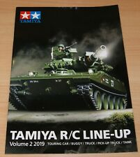 Tamiya 64422 R/C Line-Up Volume 2 2019 (English/RC), NEW