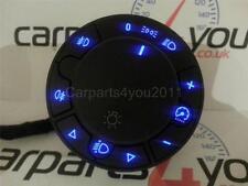 Vauxhall corsa d led bleu phare commutateur avec fr & rr brouillards + gratuit uk envoi