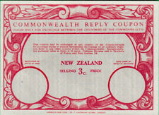 NEW ZEALAND 3c. Commonwealth Reply Coupon