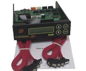 Copystars 1 To 7 SATA Blu ray CD Dvd Duplicator Controller support ISO transfer