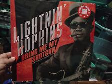 LIGHTNIN HOPKINS - BRING ME MY SHOTGUN Red Vinyl LP Shake that Thing Dog Blues