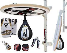 Rdx MMA 10pc boxeo plataforma pera velocidad Thai bola Speed Bag entrenamiento S