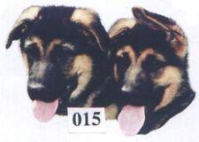 3 Stück  Hunde-Aufkleber , Autoaufkleber , Gr. S, Schäferhund Welpen 111015