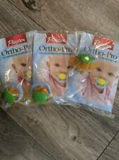 New listing Playtex~ Ortho Pro~ Latex Pacifier~ Lot of 3~ 1 Per Pack~New