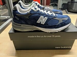 New Balance 993 Navy Kith Heritage Collection