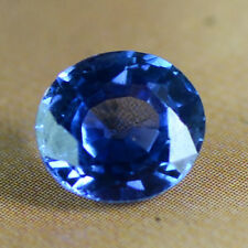 IGI Certified Natural Top Blue Sapphire 6.7x6x3.8 Cushion Cut 1.32 Cts Sri Lanka