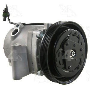 A/C  Compressor And Clutch- New Four Seasons 68401