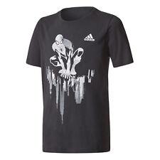 Adidas Kids Tshirt Boys Training Sports Spidey In City Young Fashion Tee CE7165