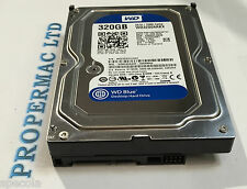 "320 GB HARD DRIVE WESTERN DIGITAL Internal 7200RPM 3.5"" SATA WARRANTY WD3200AAKX"
