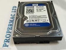 """320 GB HARD DRIVE WESTERN DIGITAL Internal 7200RPM 3.5"""" SATA WARRANTY WD3200AAKX"""
