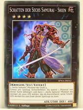 Yu-Gi-Oh - 1x #012 Schatten der Sechs Samurai - Shien - SPWA - Spirit Warriors