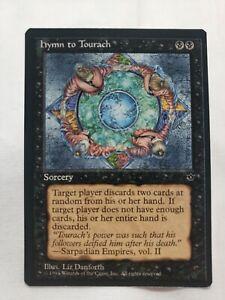 Hymn to Tourach D Fallen Empires NM Black Common MAGIC MTG CARD ABUGames