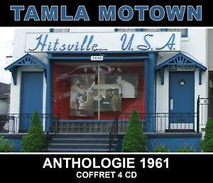 CD Tamla Motown : Anthologie 1961 - Coffret 4 CD