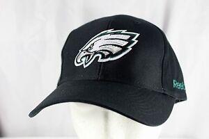 Philadelphia Eagle Black NFL Team Baseball Cap Adjustable