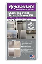 Stainless Steel Scratch Eraser Kit Scuffs Gauges Appliances Rejuvenate Remover