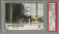 2016 The Walking Dead Pills and Thrills Season 4 Pt. 1 PSA 9 Silver Foil #43/99