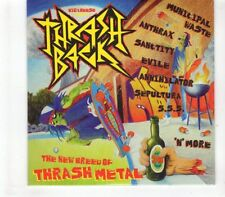 (GR504) Thrash Back, 11 tracks various artists - sealed Big Cheese Magazine CD