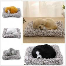 Plush Sleeping Toys Puppy Cute Dog Simulation Toy For Baby Home Decor FM