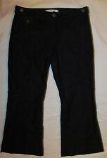 HABITUAL wide leg flare nautical short petite fit or gaucho jeans 31 L 27 NWOT